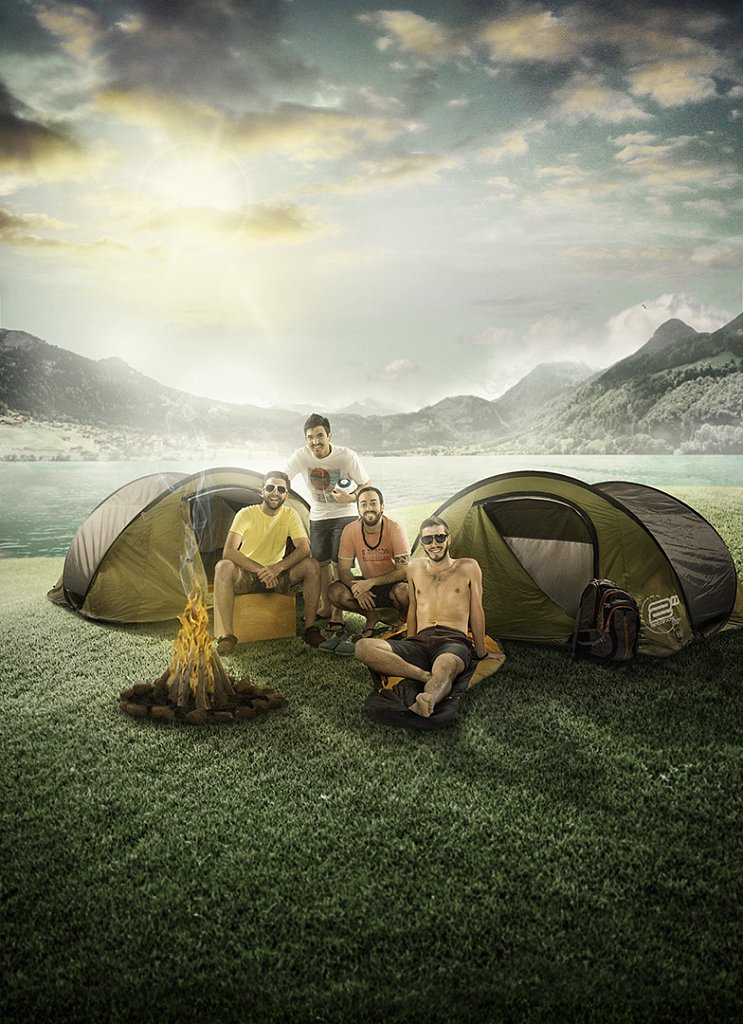 100 Pipers Camping